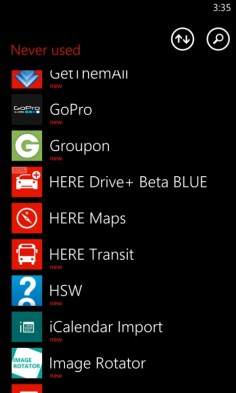 Here Drive+ Beta BLUE