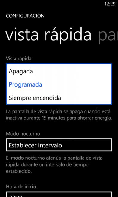 Nokia Glance