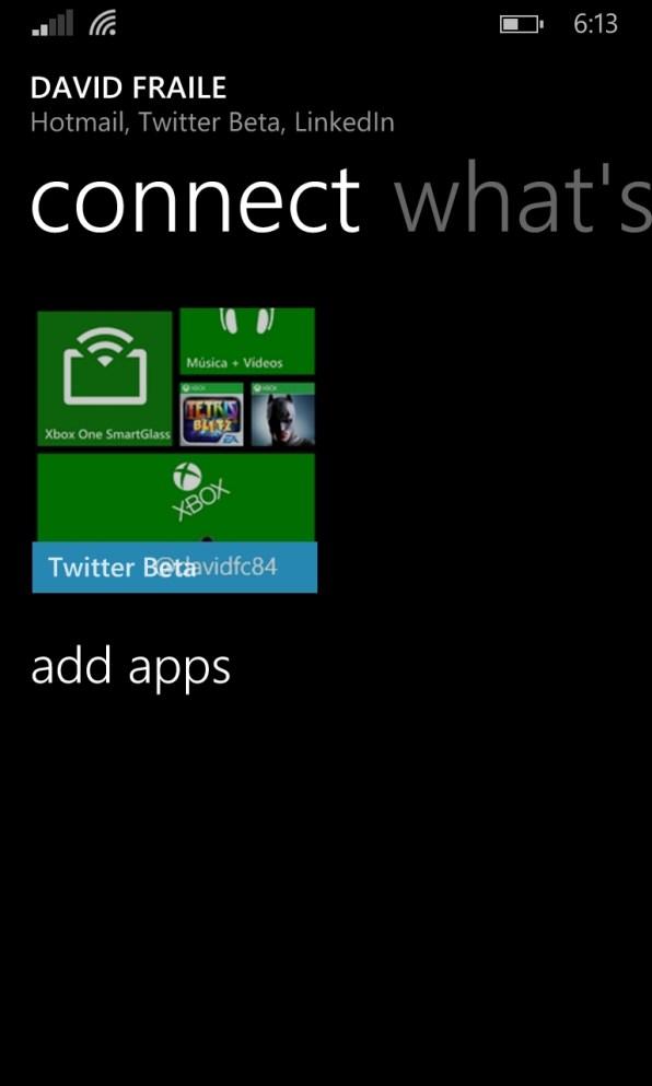 Aparece una beta cerrada de Twitter para Windows Phone 8.1