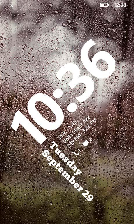 Pantalla de Bloqueo para Windows Phone