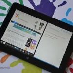 HP Omni 10 Análisis - Windows 8.1 Pantalla dividida