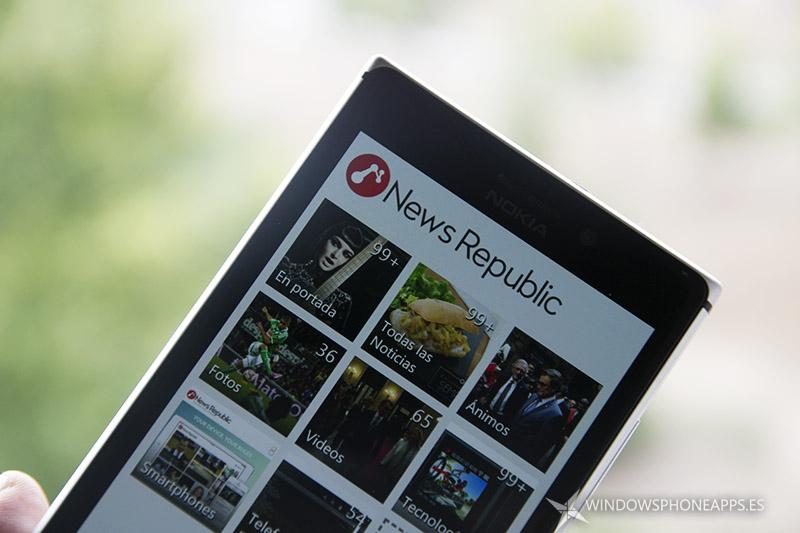 News Republic Windows Phone