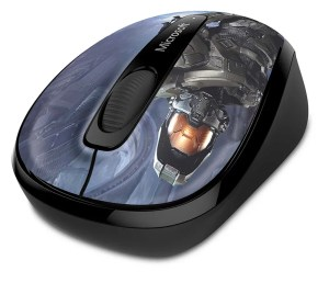 Wireless Mobile Mouse 3500 Halo Edition frontal