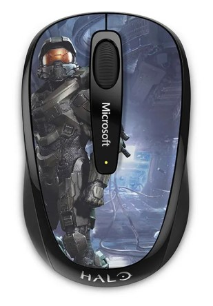 Wireless Mobile Mouse 3500 Halo Edition superior