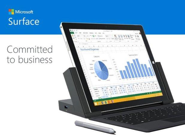 Surface Pro 3, en oferta para empresas