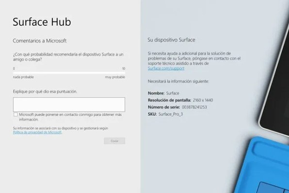Surface Hub, comentarios