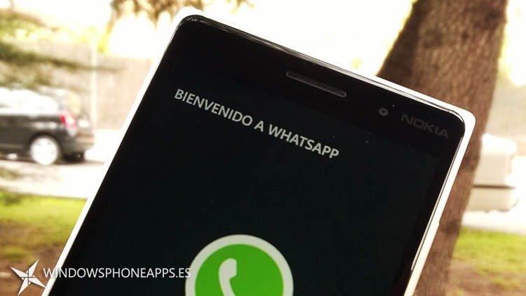 Whatsapp Nokia Lumia 830