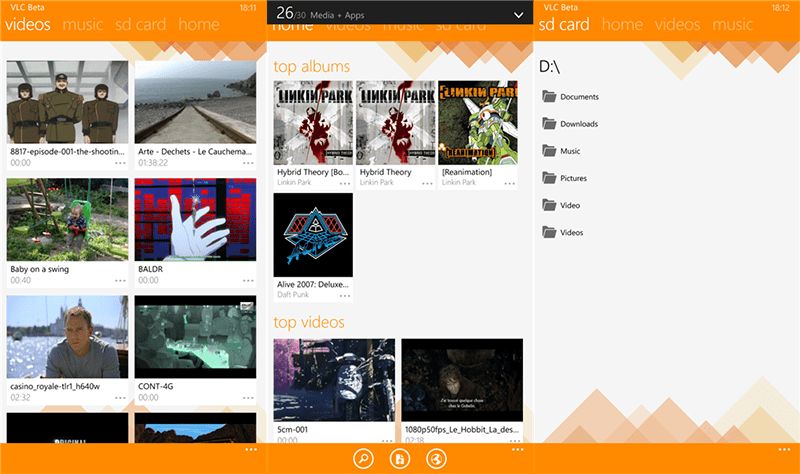 VLC for WP Beta
