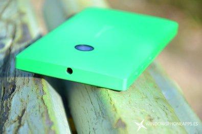 lumia 435 detalle jack