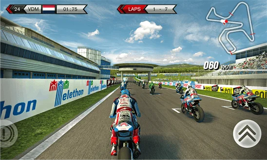 SBK15 Official Mobile Game wp