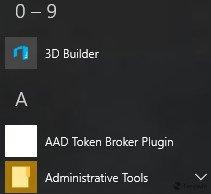 Windows 10 10108 aad token broker plugin
