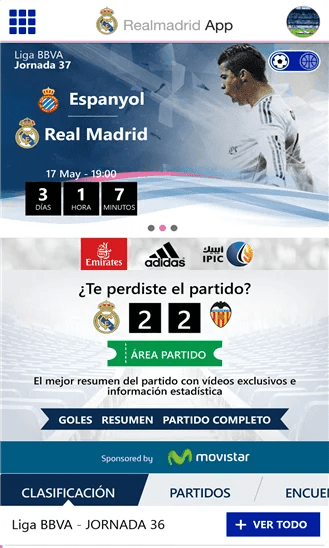 real madrid app 1