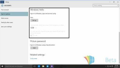 windows hello build 10125
