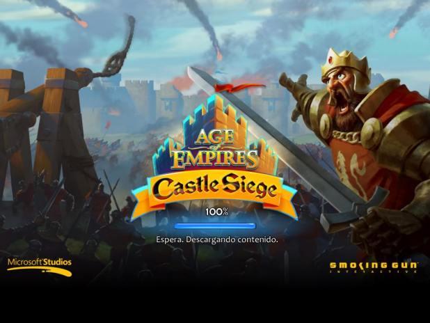 age of empires castle siege pantalla