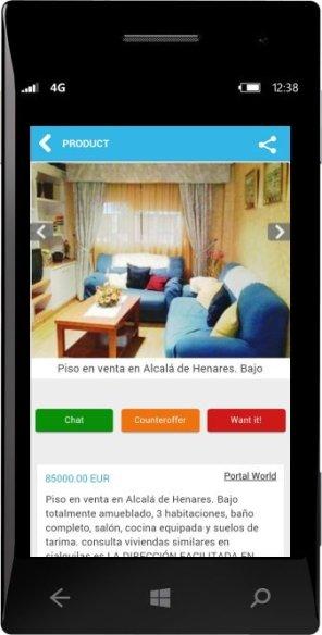 FlatsAndHouses Windows Phone 03
