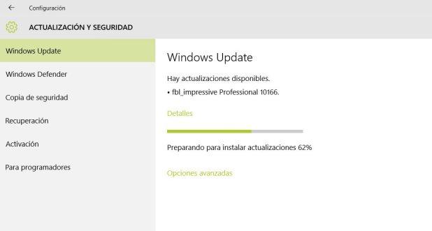 Build 10166 Windows 10
