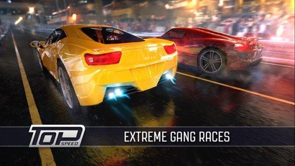 Top Speed Drag Fast Racing