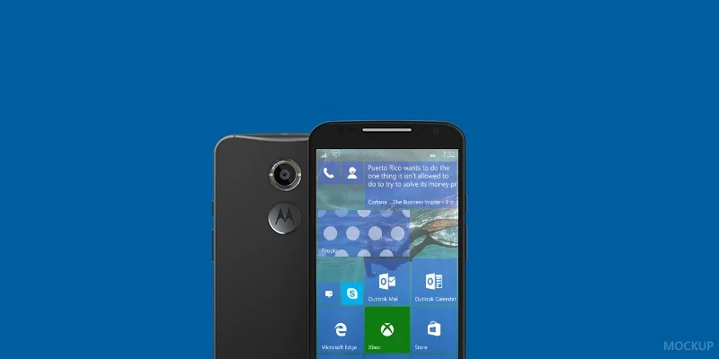 motorola x windows phone mobile