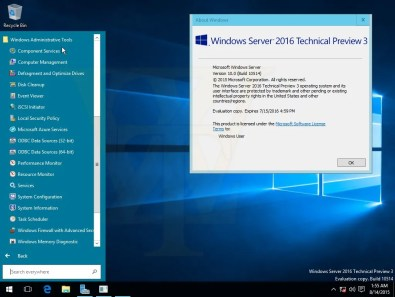 Windows Server 2016 build 10514 3