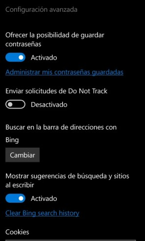 Captura de la Build 10572 de Windows 10 Mobile (13)