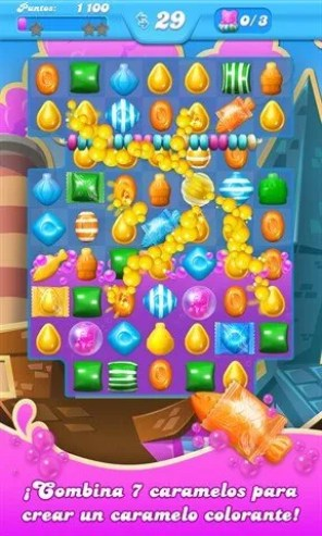 Jugabilidad en Candy Crush Soda Saga