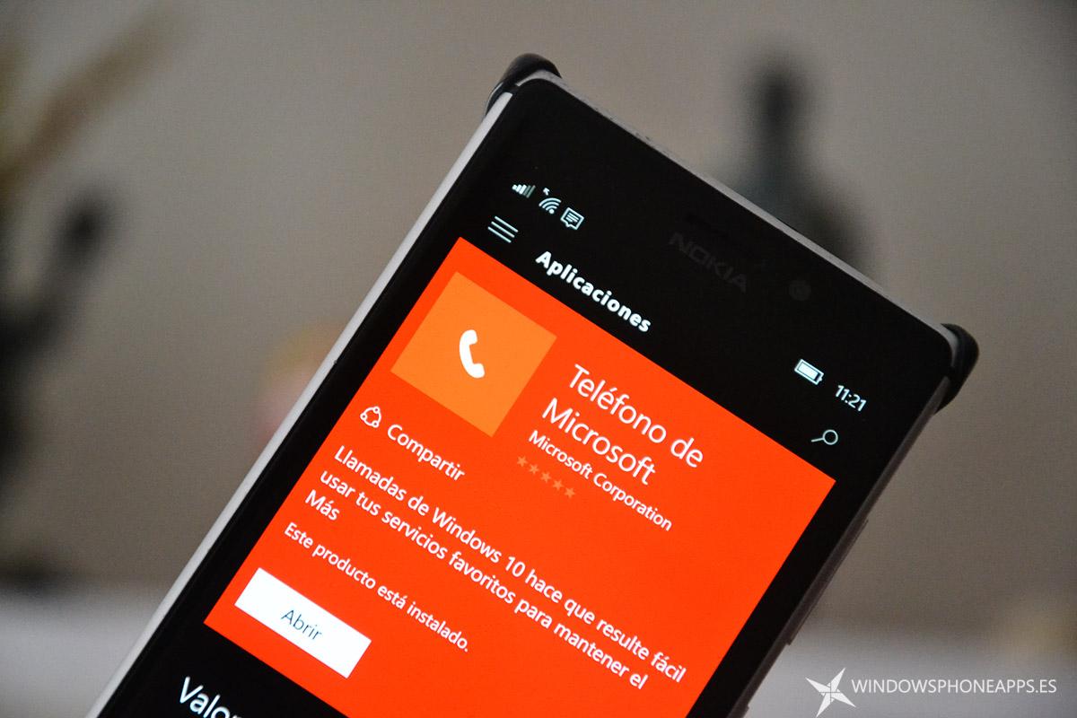 Teléfono de Microsoft