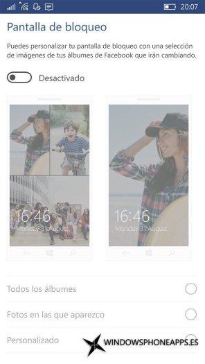 Facebook para Windows 10 Mobile (3)