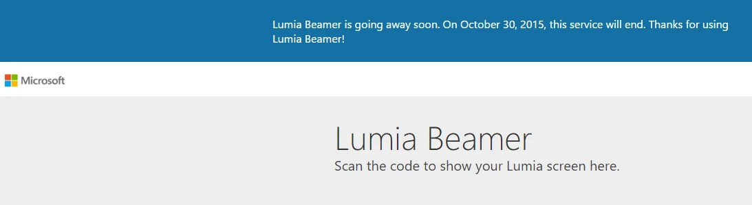lumia beamer