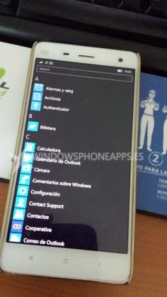 XIaomi Mi4 Windows 10 Mobile (1)