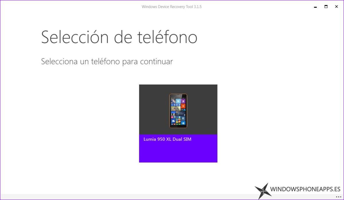 windows device lumia 950