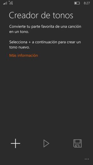 Creador de tonos Windows 10 Mobile (1)