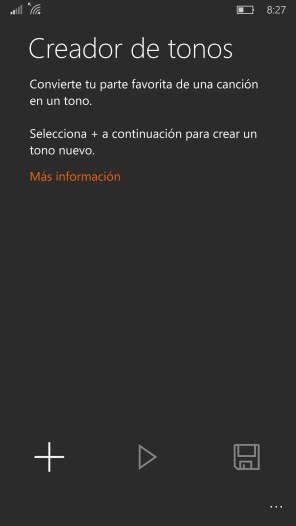 Creador de tonos Windows 10 Mobile (1)