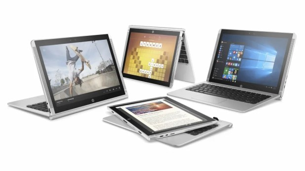 HP Pavilion x2 12_multiple modes