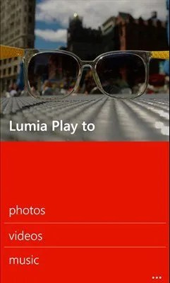 Lumia play to