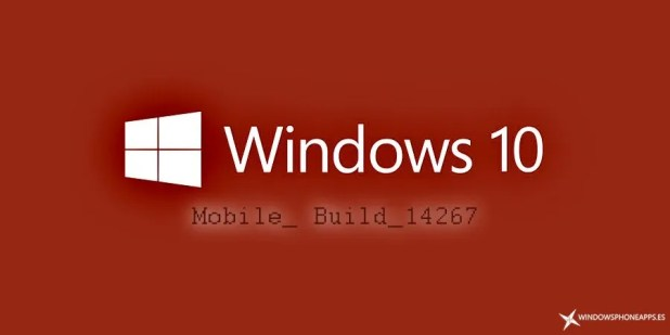 Diseño Build 14267 Windows 10 Mobile RedStone