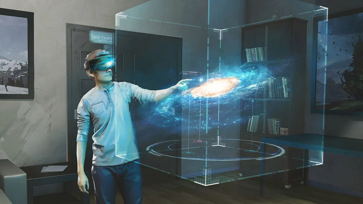 HoloLens Galaxy Explorer App