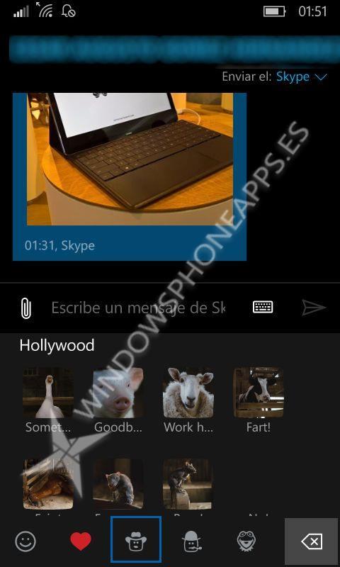 mojis skype mensajes 1