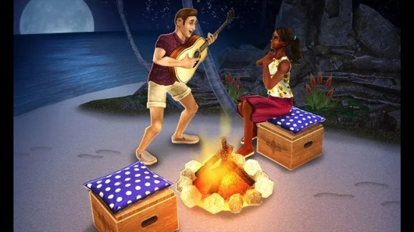 the sims freeplay san valentin