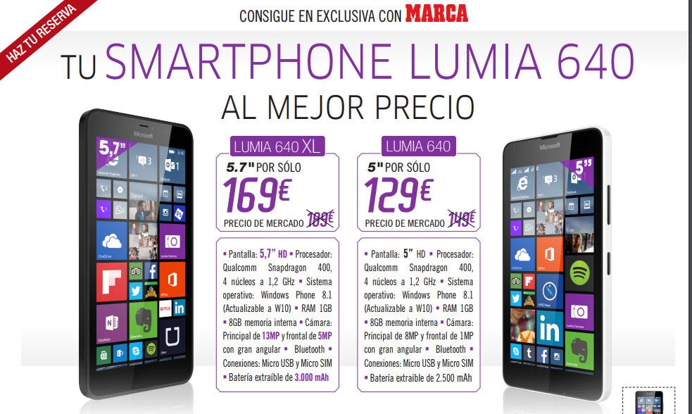 Promoción Lumia con Marca