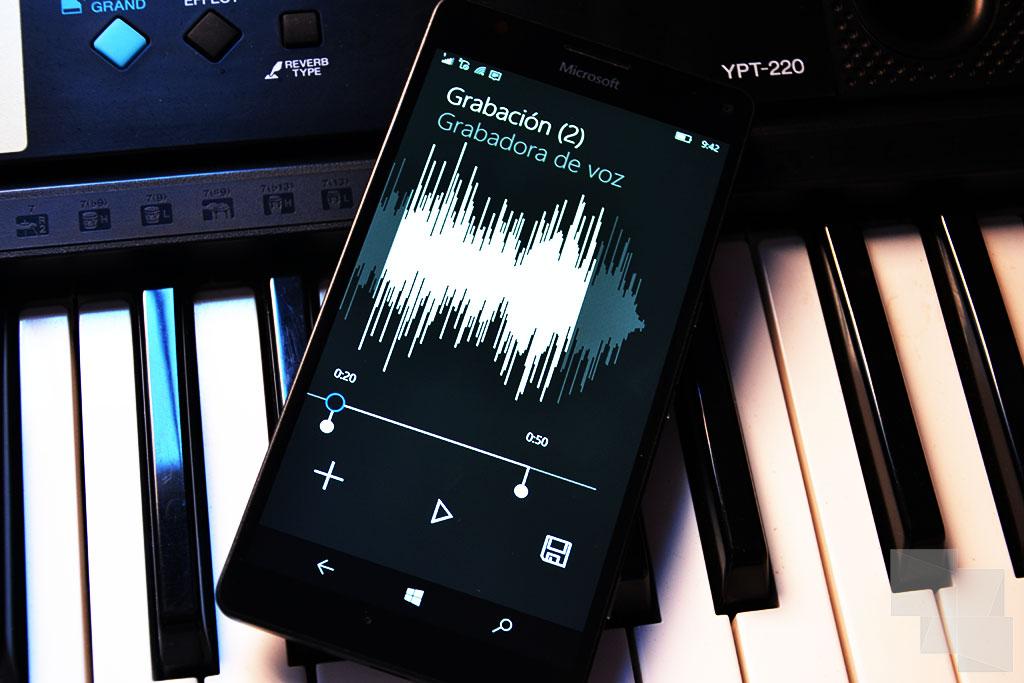 Creador de tonos Windows 10 Mobile