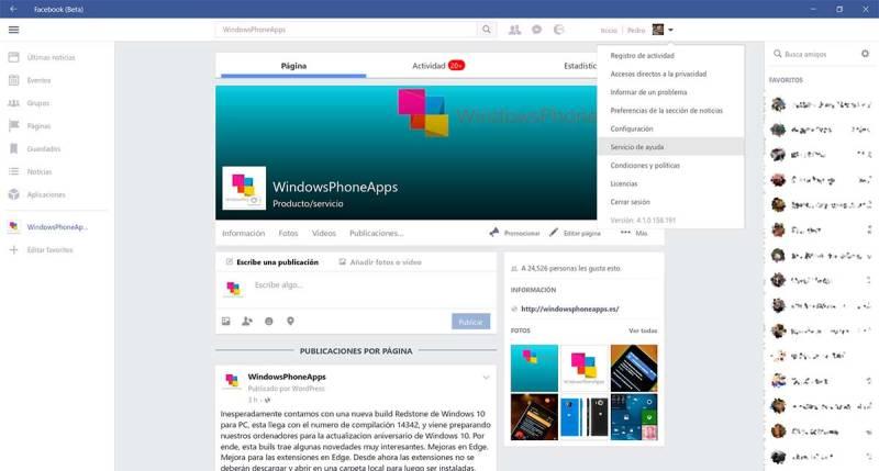 facebook-beta-pc