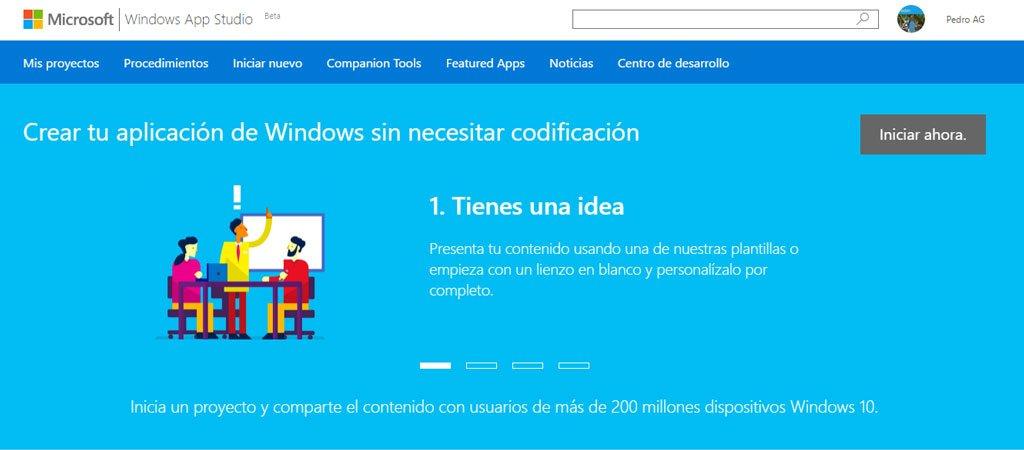 Windows App Studio