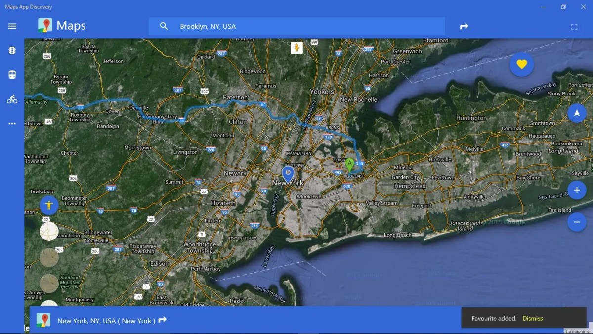 Maps App Discovery windows 10