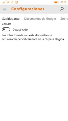GDrive.NET Windows 10 Mobile 5