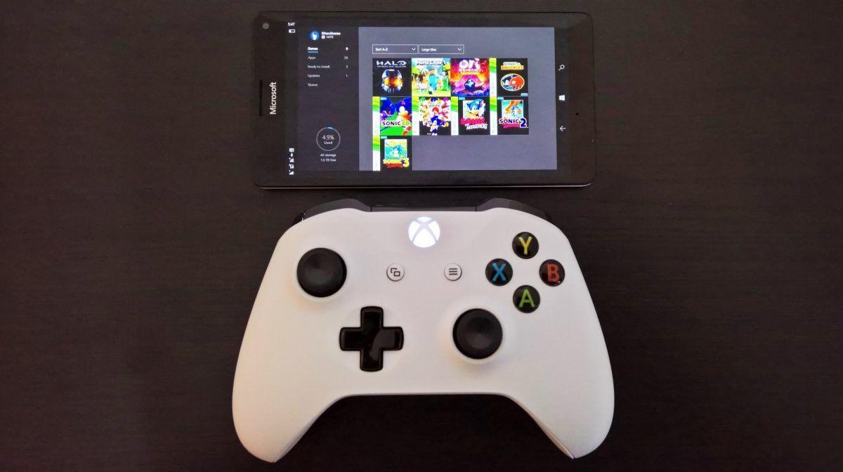 Xbox Windows 10 Mobile