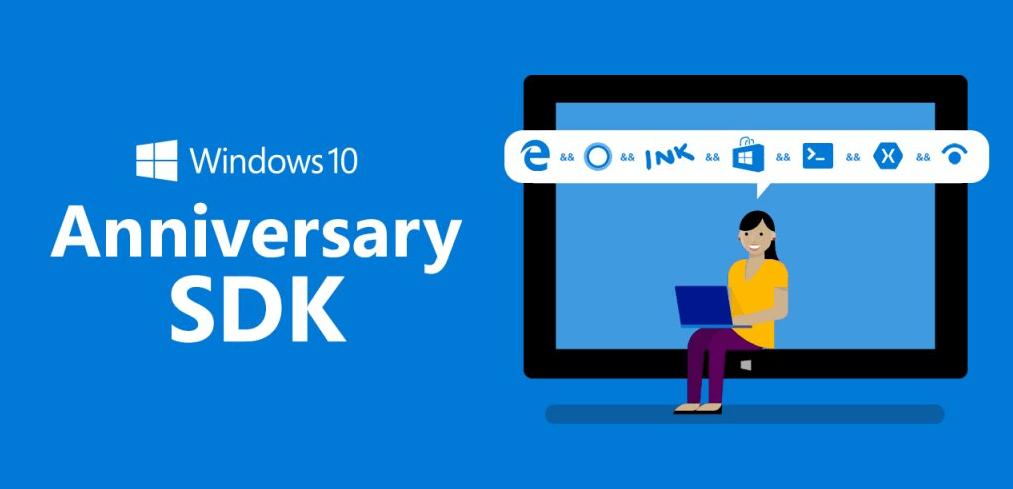 actualizacion aniversario windows 10 sdk