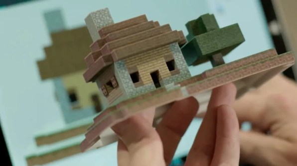 windows-10-creators-update-figura-3d-minecraft-imprimida