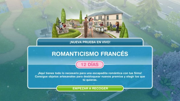 the sims freeplay romanticismo frances