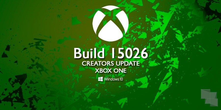 Build 15026 Xbox One Anillo Alpha
