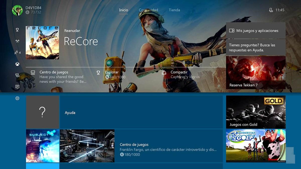Windows 10 Creators Update para Xbox One